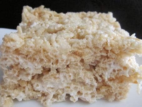 Salted Brown Butter Crispy Treats