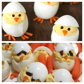 Pinterest Fail: Deviled Egg Chicks
