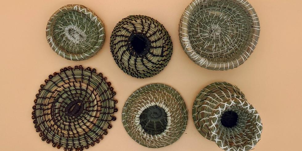Pine Needle Basket Weaving