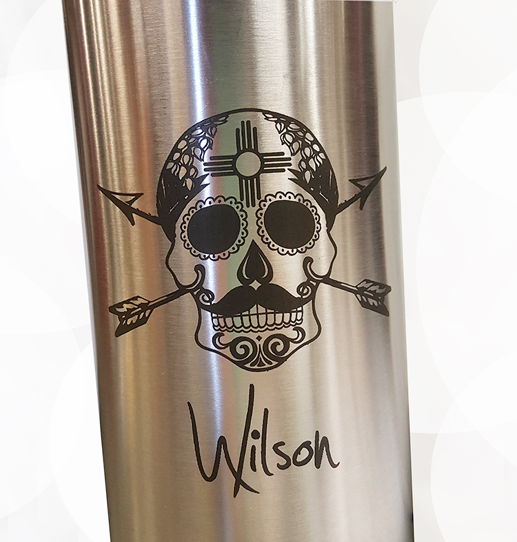 Engraving for YETI Bottle