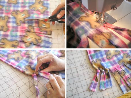 Single-Layer Fleece Blanket