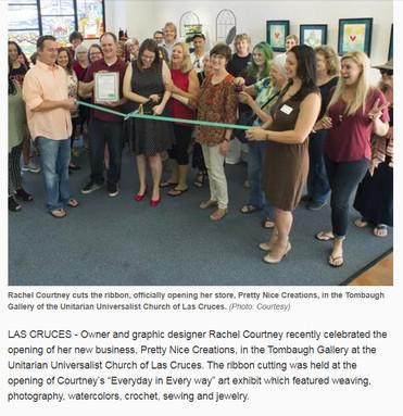 Las Cruces Sun-News - Ribbon Cutting
