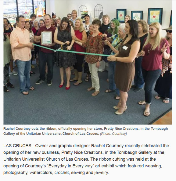 Las Cruces Sun-News - Ribbon Cutting