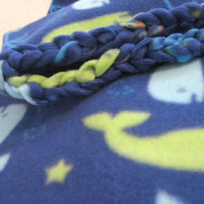 Braided Loop-Edge Blanket