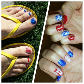 Product Review: Jamberry and Sally Hanson nail polish