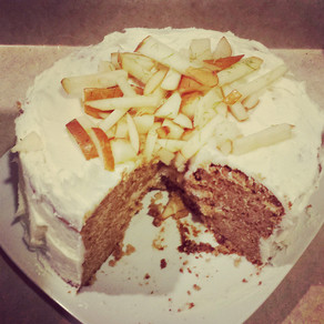 Ginger Cake With Bourbon Frosting