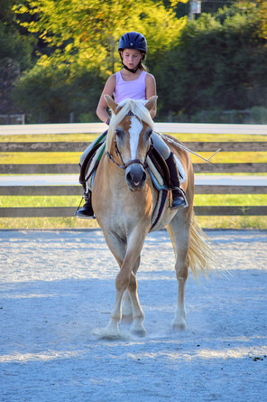 Cindy-Lou and Ava practicing full pass