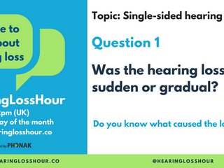 Round up of September's #HearingLossHour