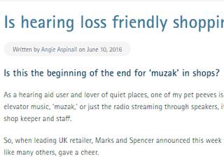 Marks & Spencer ban music - hoorah!