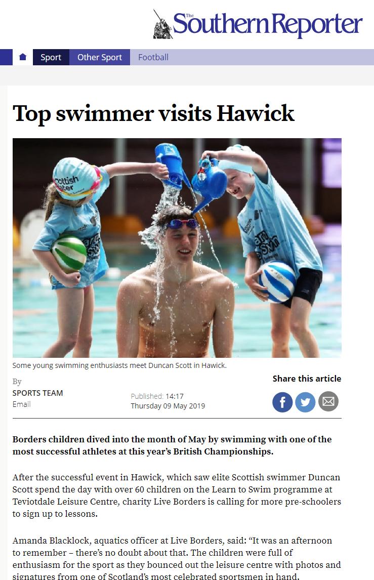 SR Swimmer