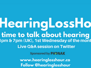 New website for #HearingLossHour