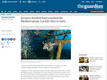 Writing for The Guardian