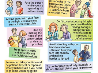 Communication tips shared during #hearinglosshour