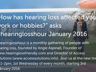 How has hearing loss affected your work or hobbies?