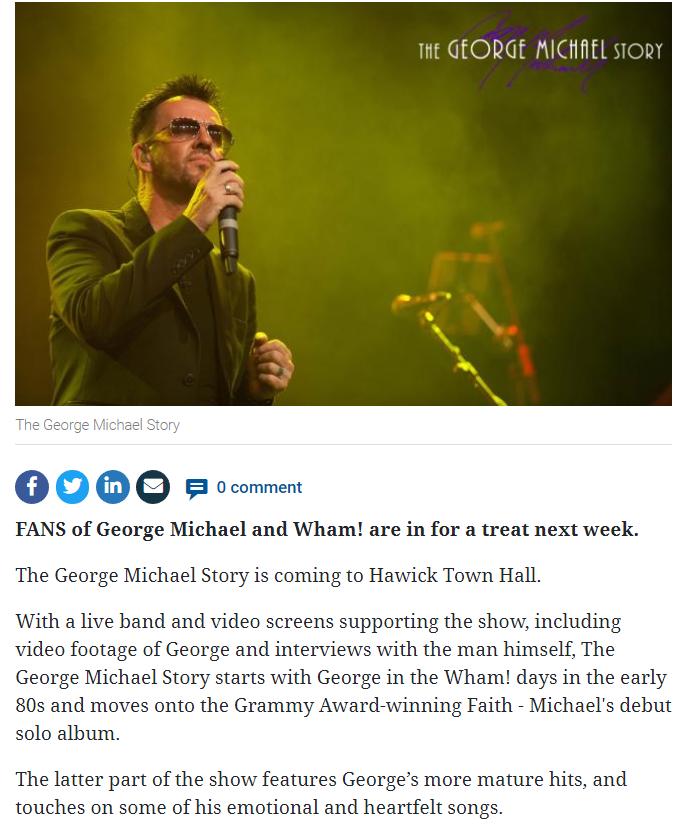 BT George Michael