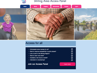 Stirling Area Access Panel Launches New Website