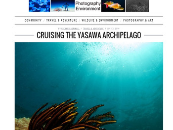 Cruising the Yasawa archipelago, Fiji