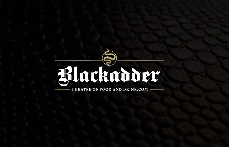 Blackadder theatre of food and drink logo
