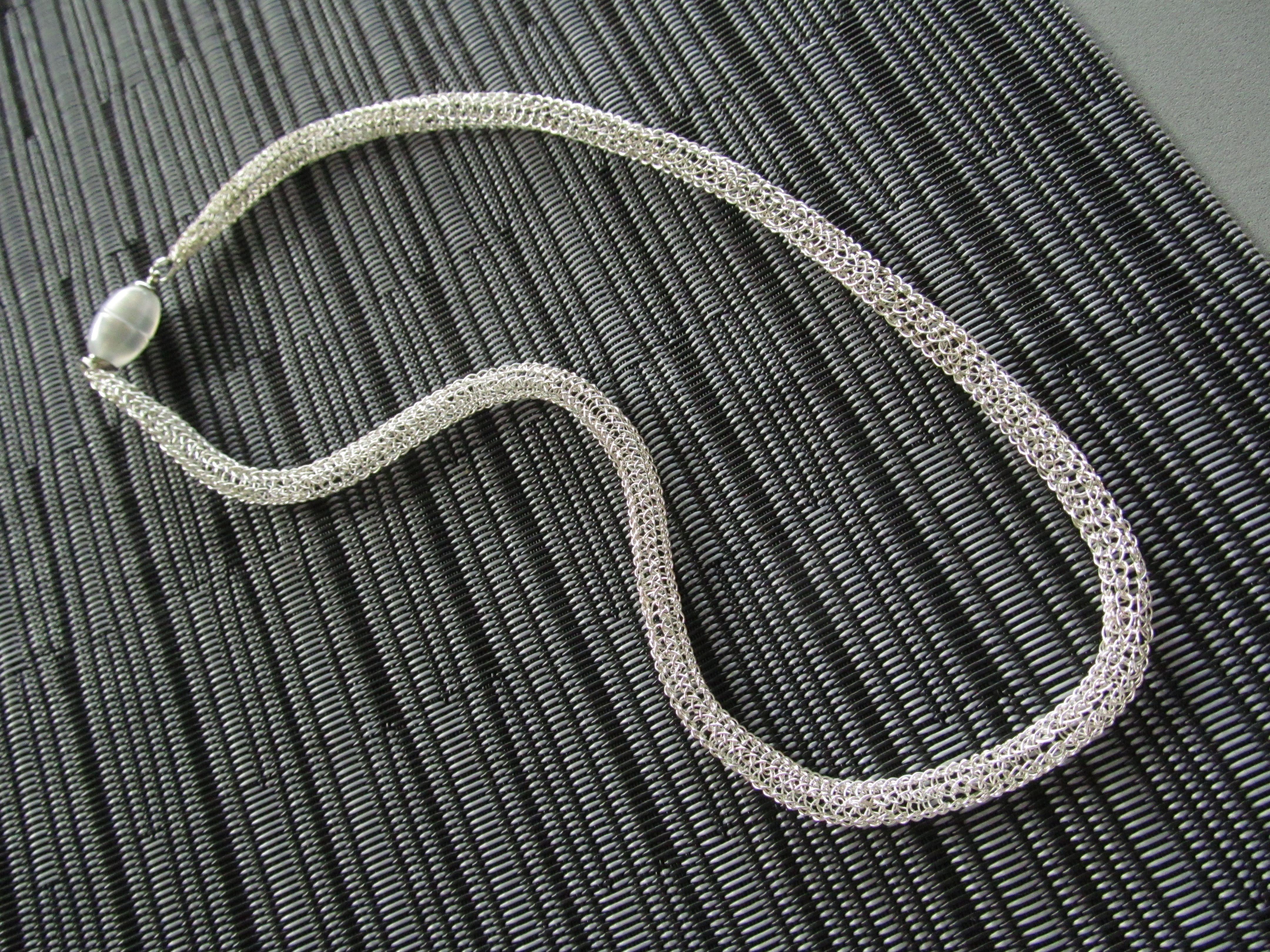 silver knit