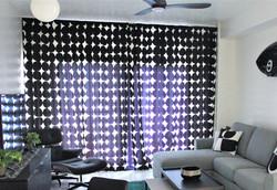 midcentury curtain