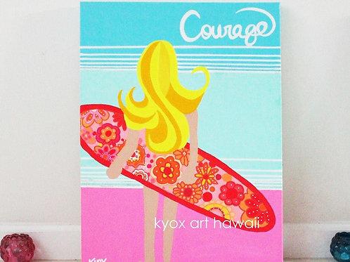 【Giclée 】Courage