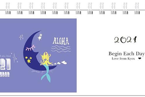 【予約販売】卓上カレンダー 2021 Calendar - Japanese