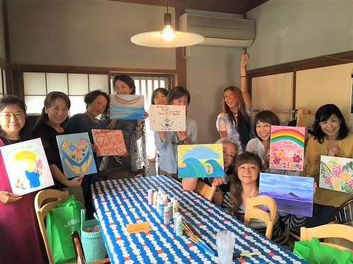 Wine & Paint       お絵描きワイン会 プライベートセッション