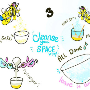 Cleanse your space 空間浄化
