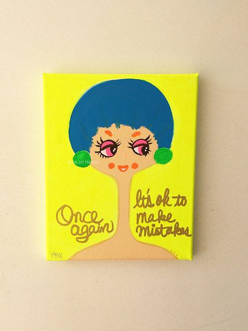 【Original-原画】It's ok to make mistakes