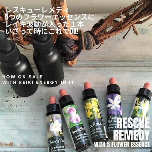 【Rescue】Flower Remedies フラワーレメディ(レスキュー)