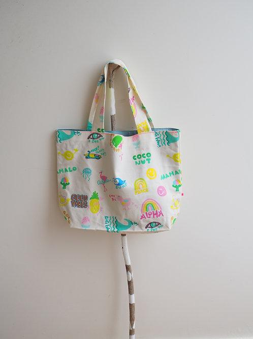 Hawaii is Paradise Tote Bag (L)