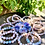 Thumbnail: 【Blue Flower Agate Bracelet】