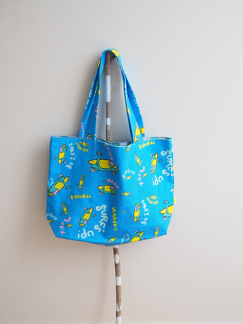 Let's go surf! Tote Bag (L)