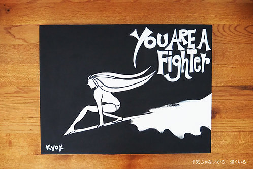 【Original-原画】You are a fighter  平気じゃないから強くいる