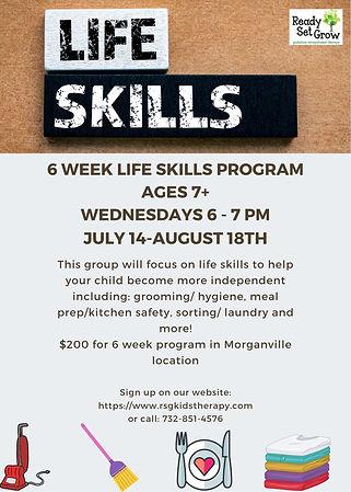 Life Skills group summer 2021.jpg