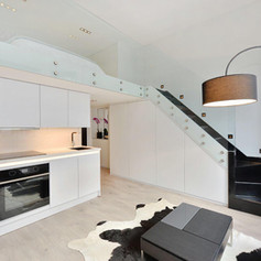 Kitchen with Mezzanine, London | Astrid Design and Build Ltd