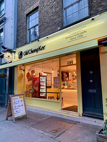 Old Chang Kee, Goodge Street London   ASTRID Design & Build