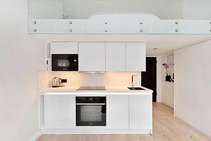 Kitchen with mezzanine, London | ASTRID Design & Build