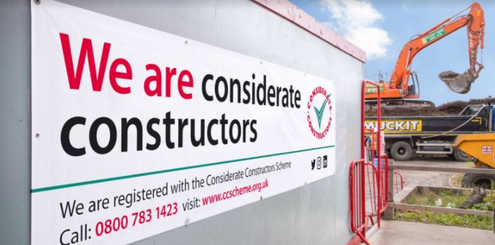 We are officially 'Considerate Constructors'!...