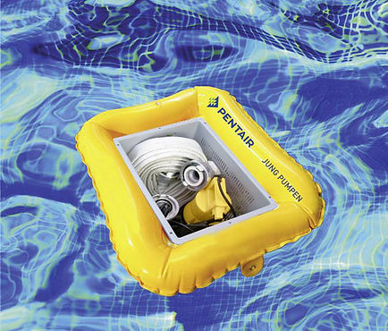 Jung Pumpen Flutbox im Swimming-Pool