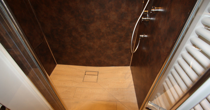 Plancofix im Bad Bodengleiche Dusche
