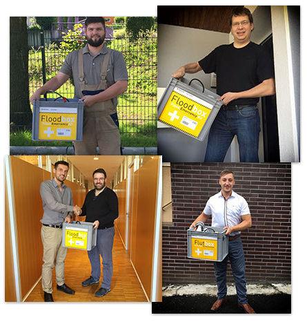 Jung Pumpen Flutbox Gewinner