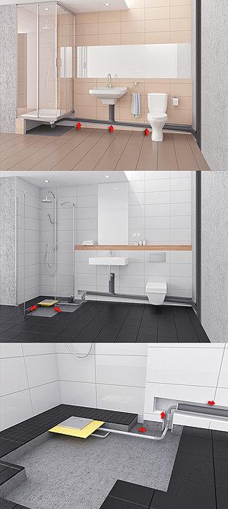 PLANCOFIX – Bodengleiche Dusche: So geht´s!