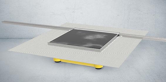 Plancofix Line Produktbild für die bodngleiche Dusche