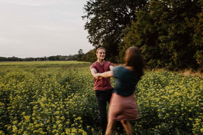 Paarshooting Wittenberge, natürliche Paarfotografie Altmark