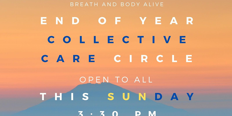 End of Year Collective Care Circle