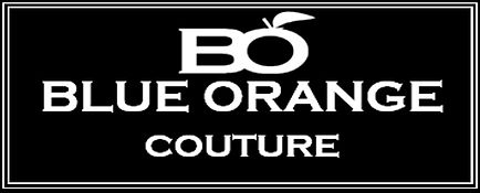 Bluie orange couture logo