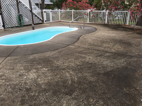 HOW CAN I GET MY POOL DECK CLEAN