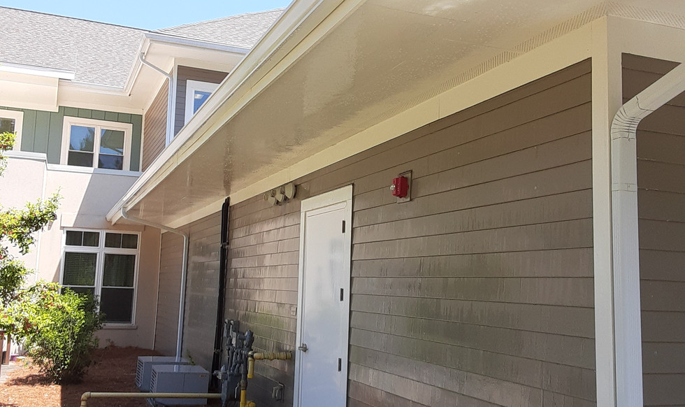 GUTTER CLEANING-AFTER