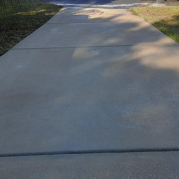 Mobile Home Driveway Cleaning